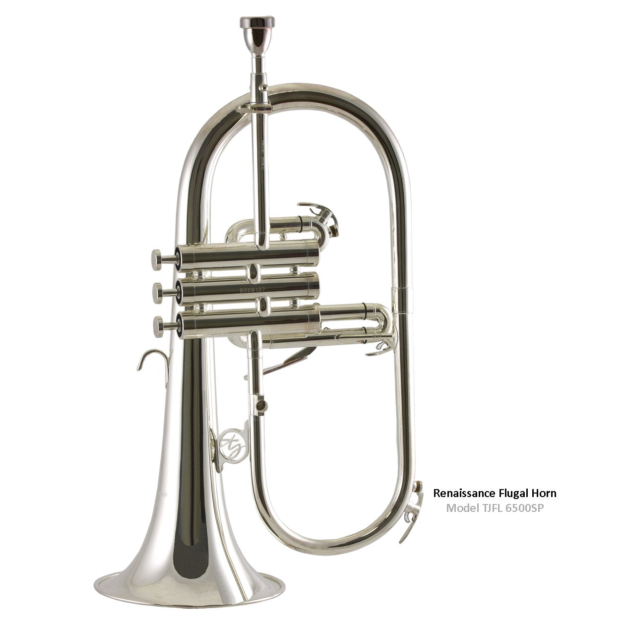 Trevor James - 6500 Renaissance Flugelhorn-Flugelhorn-Trevor James-Silver Plated (6500SP)-Music Elements