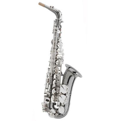 Trevor James - Classic Alto Saxophones-Saxophone-Trevor James-Black with Silver Keys-Music Elements