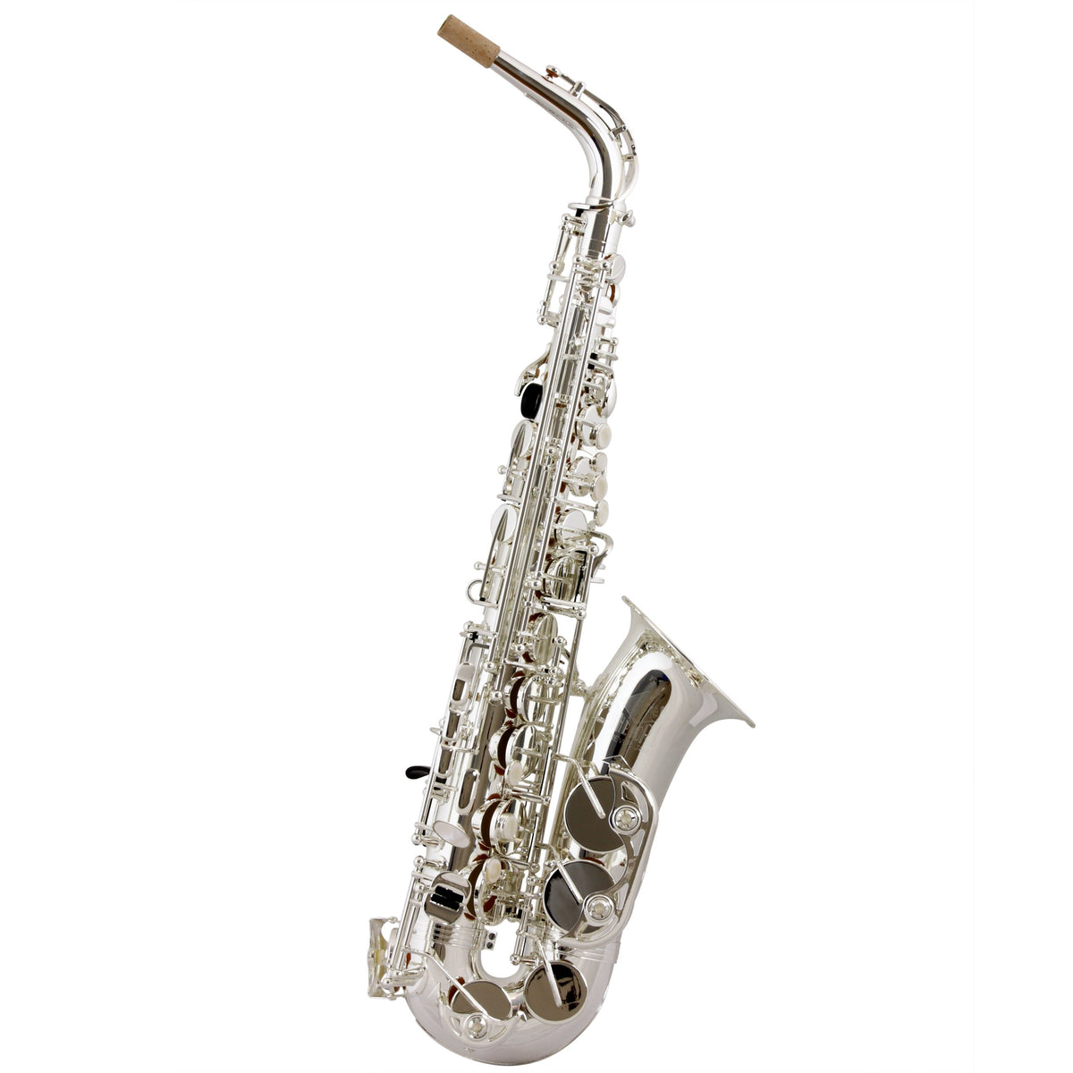 Trevor James - Classic Alto Saxophones-Saxophone-Trevor James-Silver Plated-Music Elements