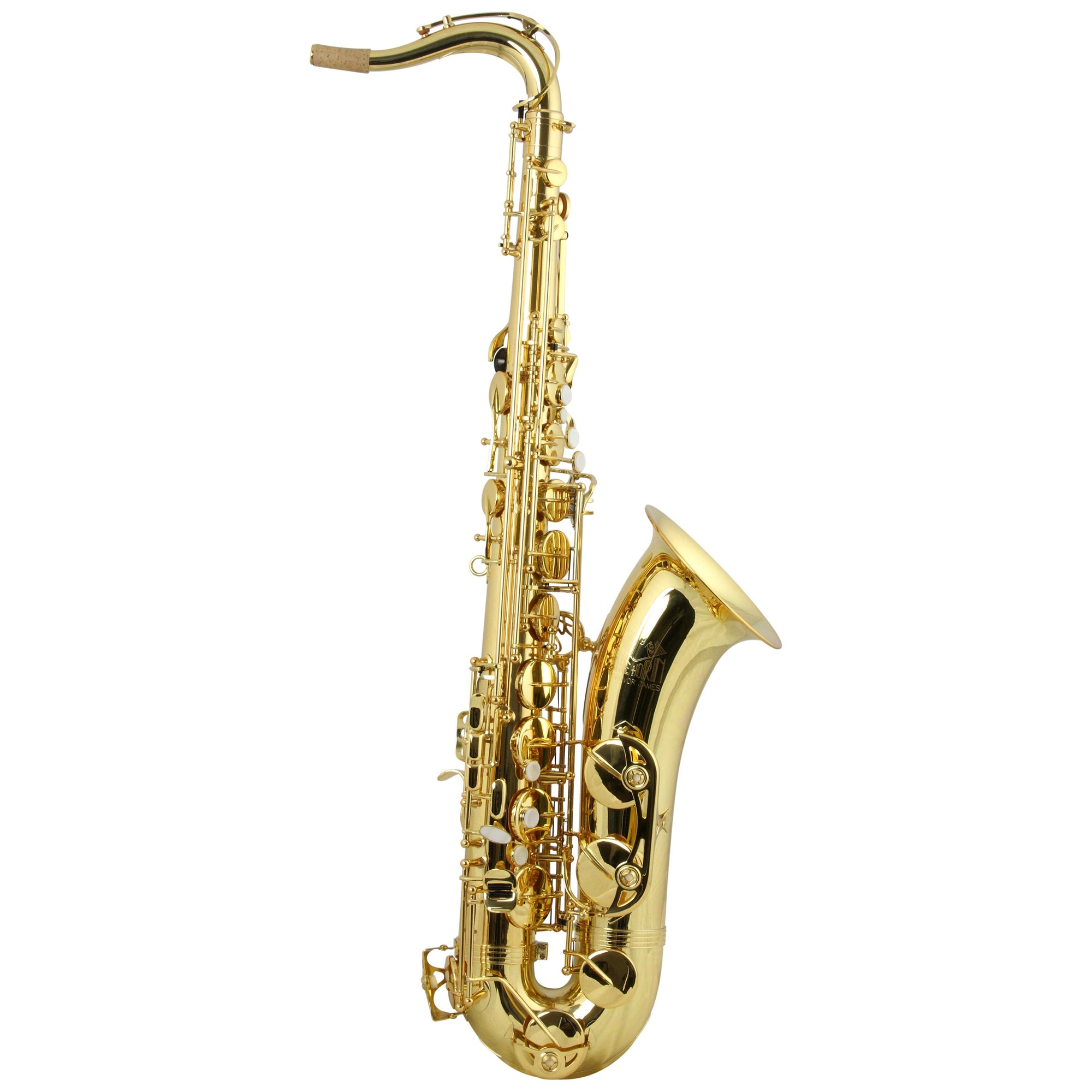 Trevor James - Classic Tenor Saxophones-Saxophone-Trevor James-Gold Lacquer-Music Elements