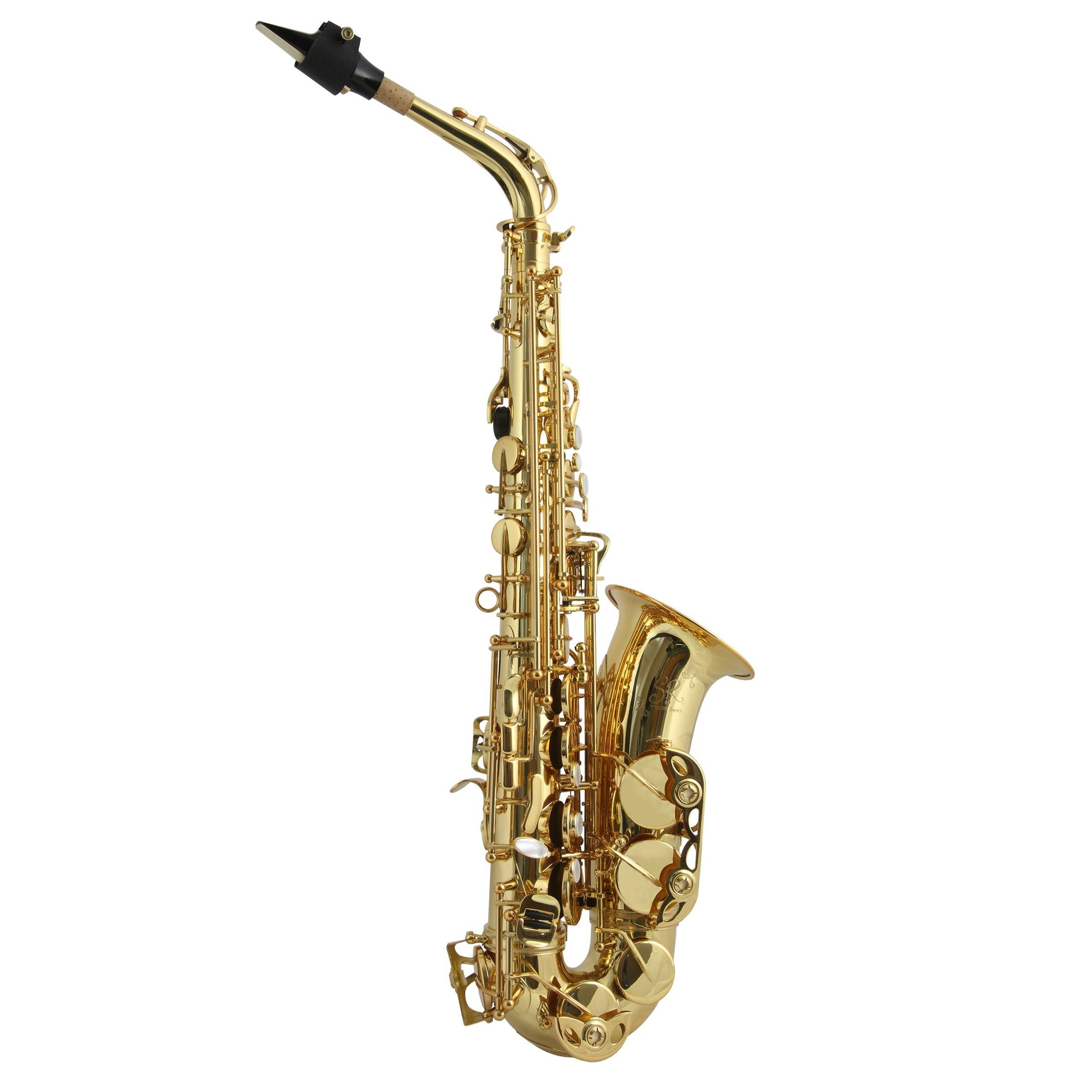 Trevor James - SR Alto Saxophones-Saxophone-Trevor James-Gold Lacquer-Music Elements