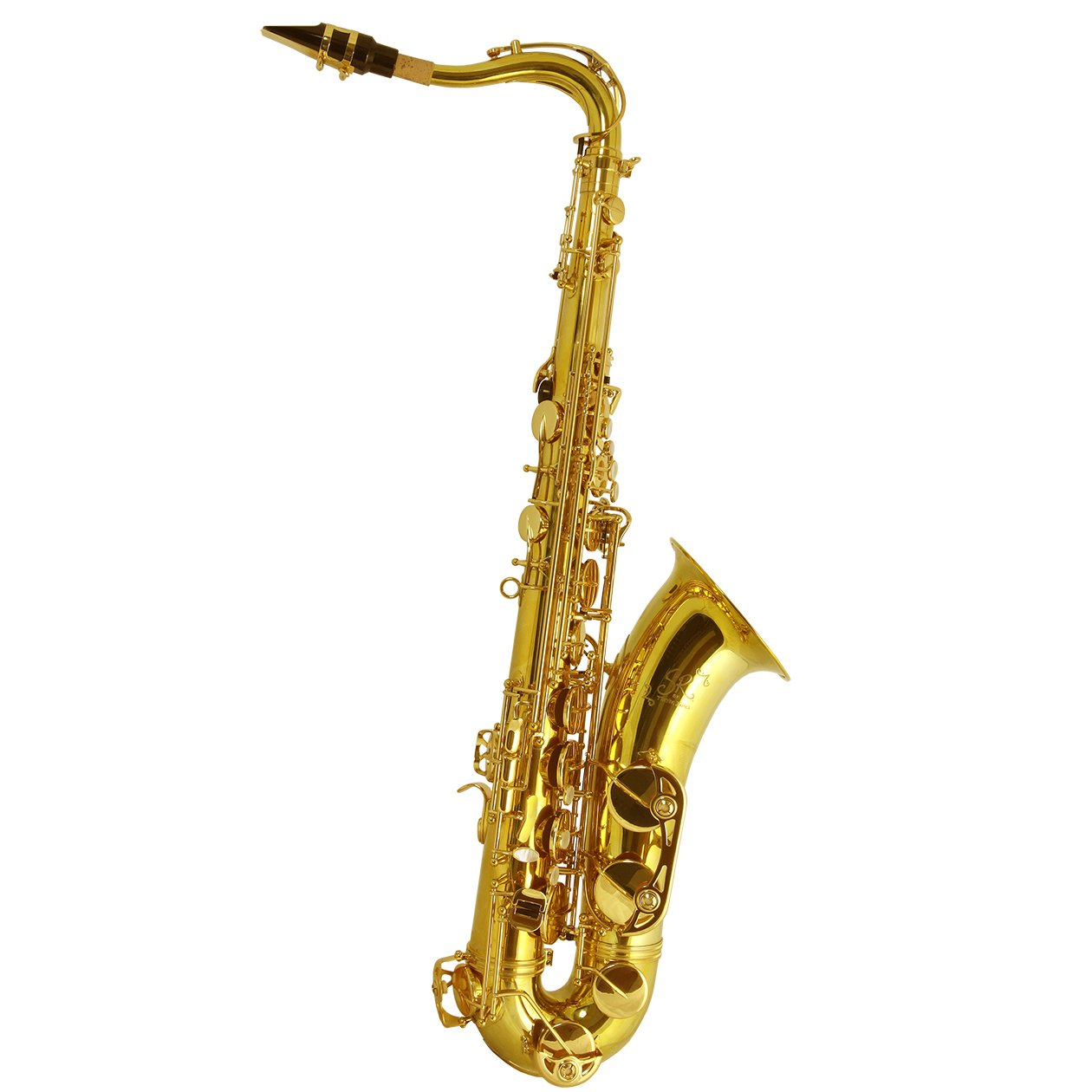 Trevor James - SR Tenor Saxophones-Saxophone-Trevor James-Gold Lacquer-Music Elements