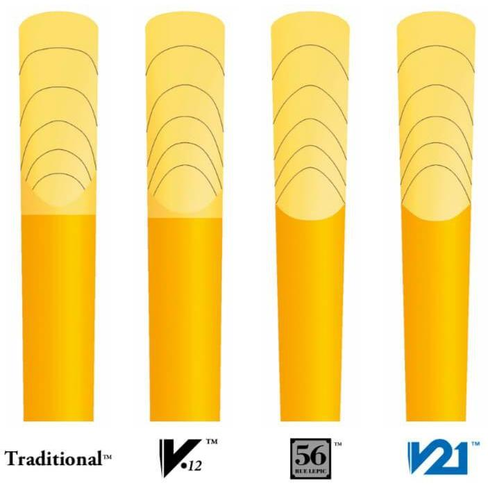 Vandoren - Traditional Contrabass Clarinet Reeds-Clarinet-Vandoren-Music Elements