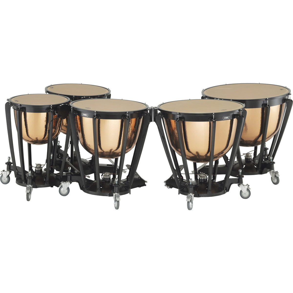 Yamaha - TP-7300R Series - Pedal Timpani with Hammered Copper Bowl-Percussion-Yamaha-Music Elements