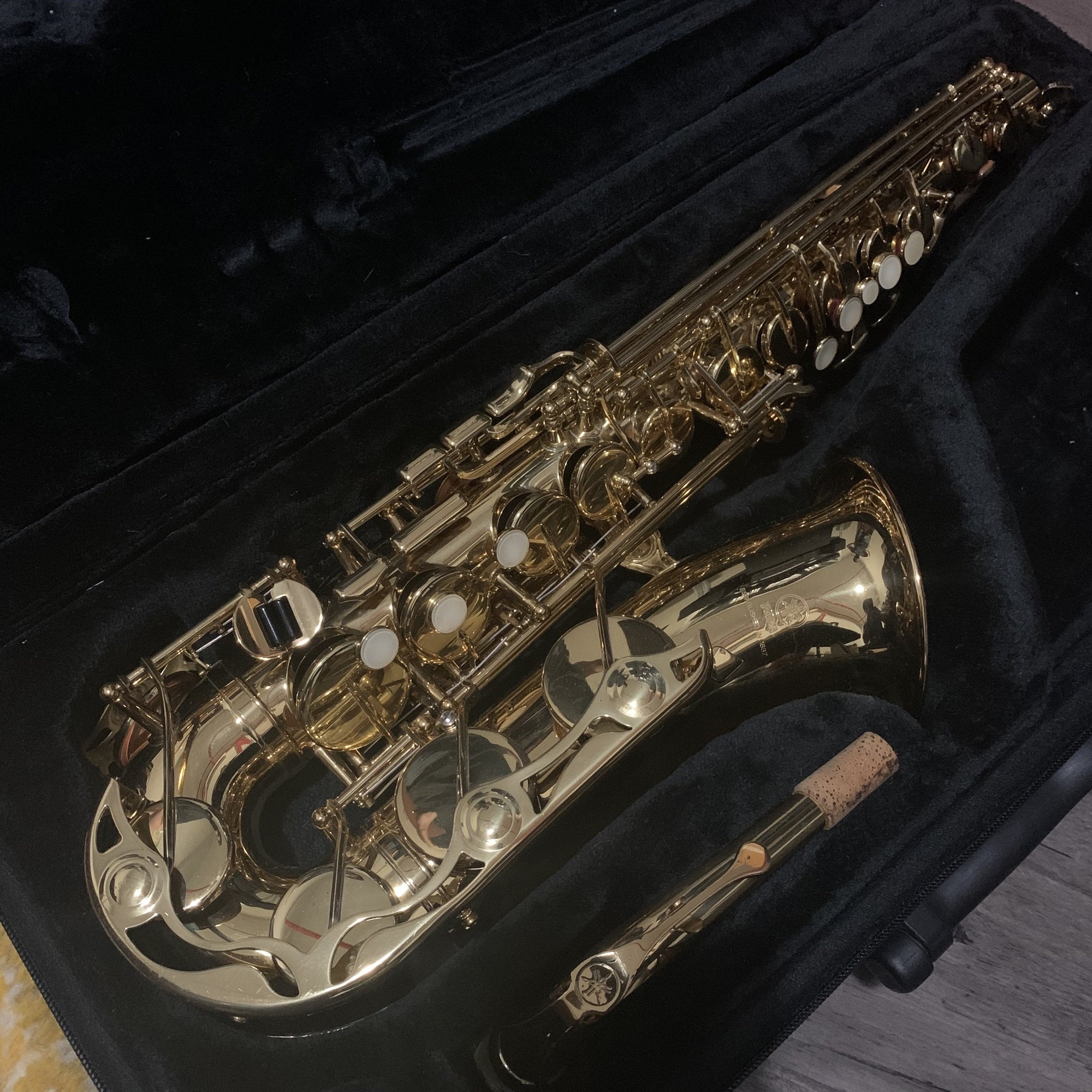 Yamaha - YAS-275 Alto Saxophone (Pre-Owned)-Saxophone-Yamaha-Music Elements