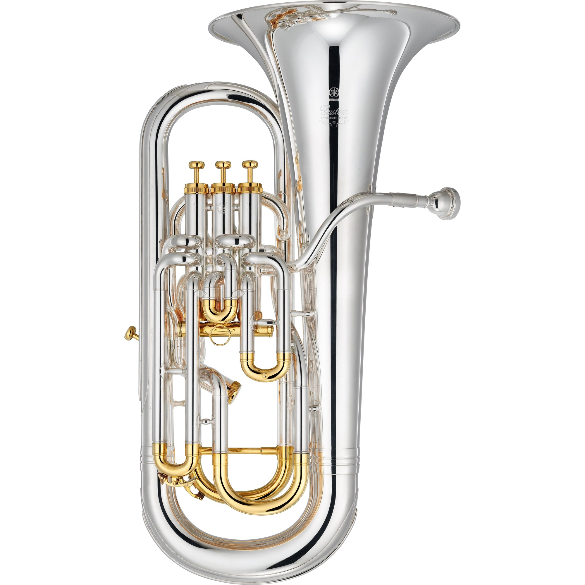Yamaha - YEP-842S - Custom Euphonium-Euphonium-Yamaha-Music Elements