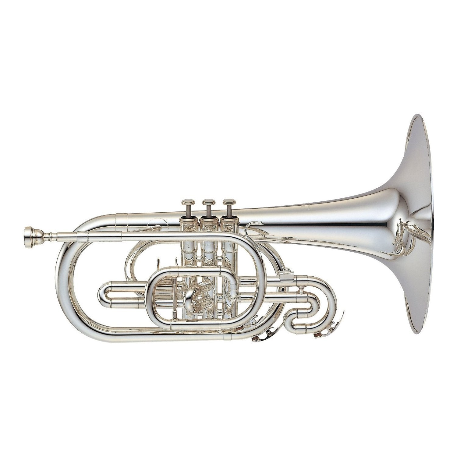 Yamaha - YMP-204MS - Marching Mellophone-Mellophone-Yamaha-Music Elements