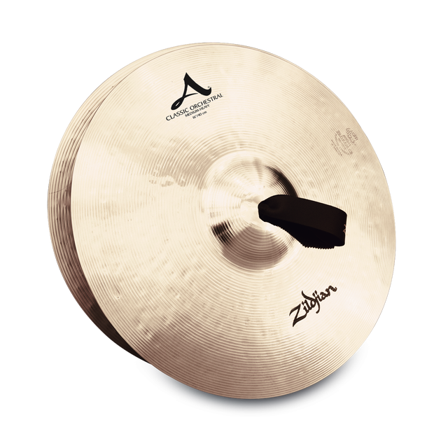 "Zildjian - A Classic Orchestral Selection Medium Heavy Crash Cymbals-Cymbal-Zildjian-16""-Music Elements"