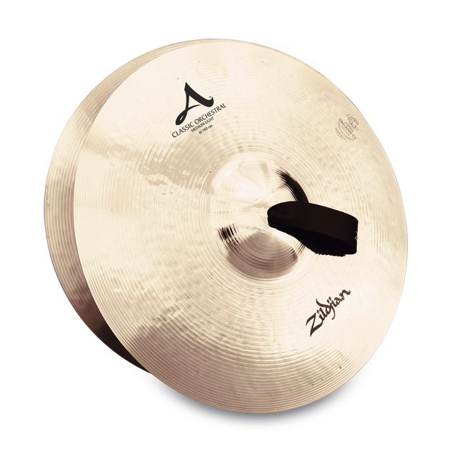 "Zildjian - A Classic Orchestral Selection Medium Light Crash Cymbals-Cymbal-Zildjian-16""-Music Elements"
