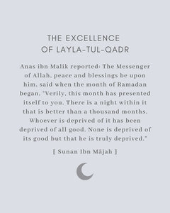 The Virtues of Laylatul Qadr