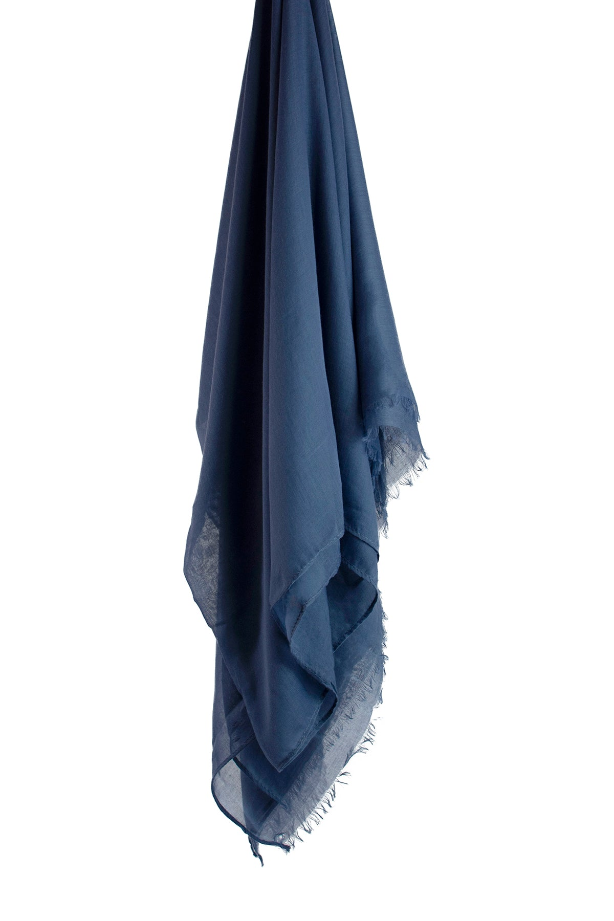 Smokey Blue Viscose