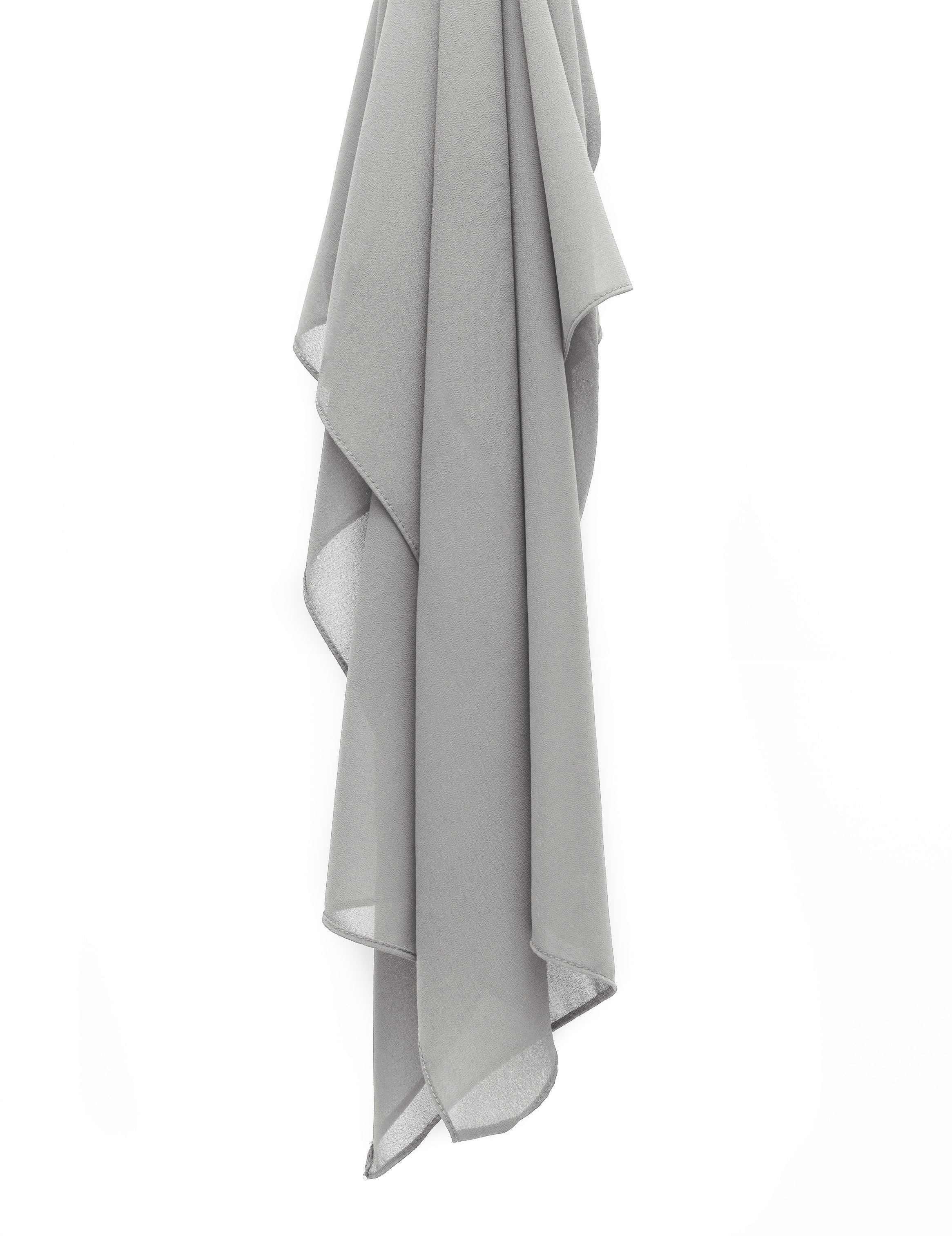 Light Grey Chiffon
