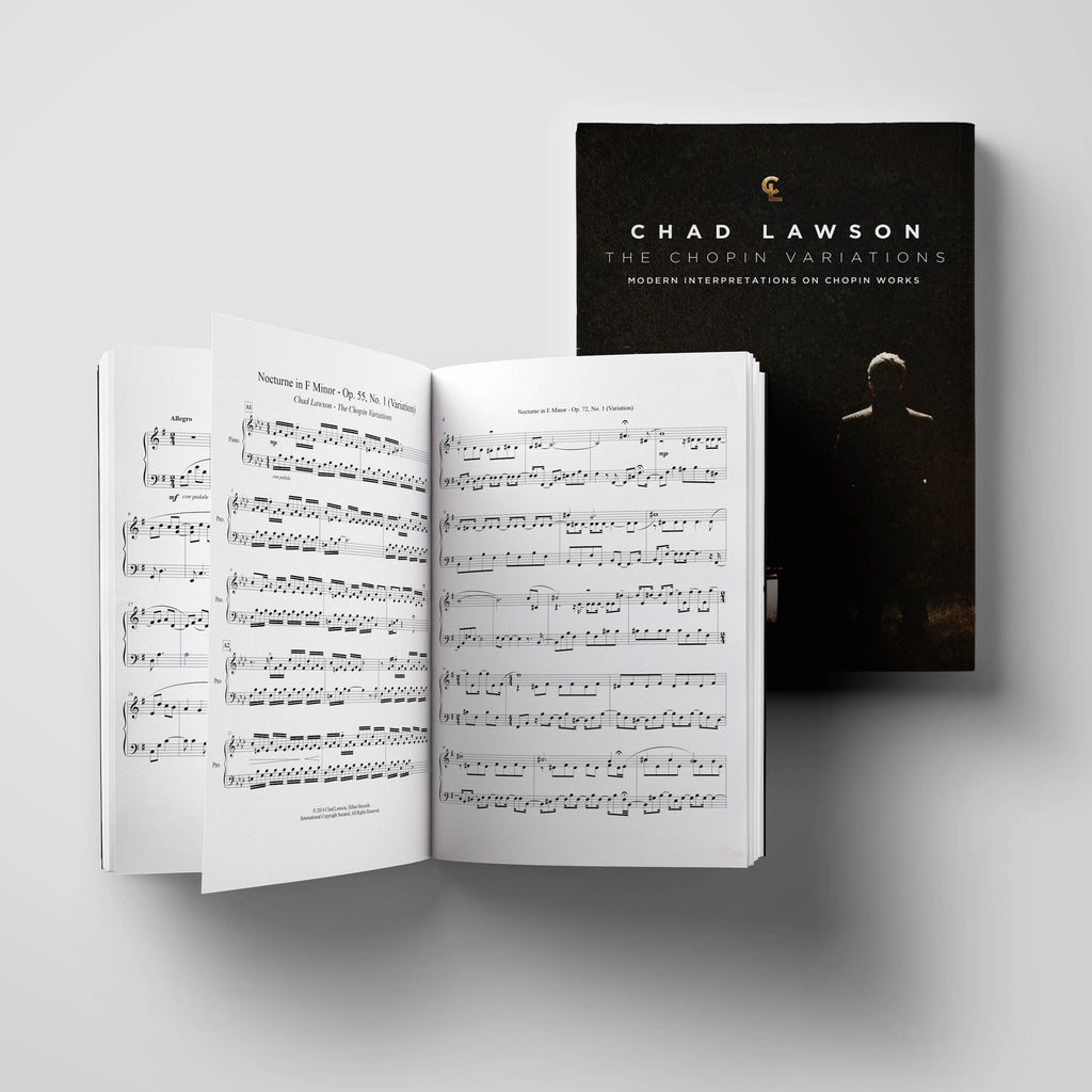 Chopin Variations (Songbook & Sheet Music)
