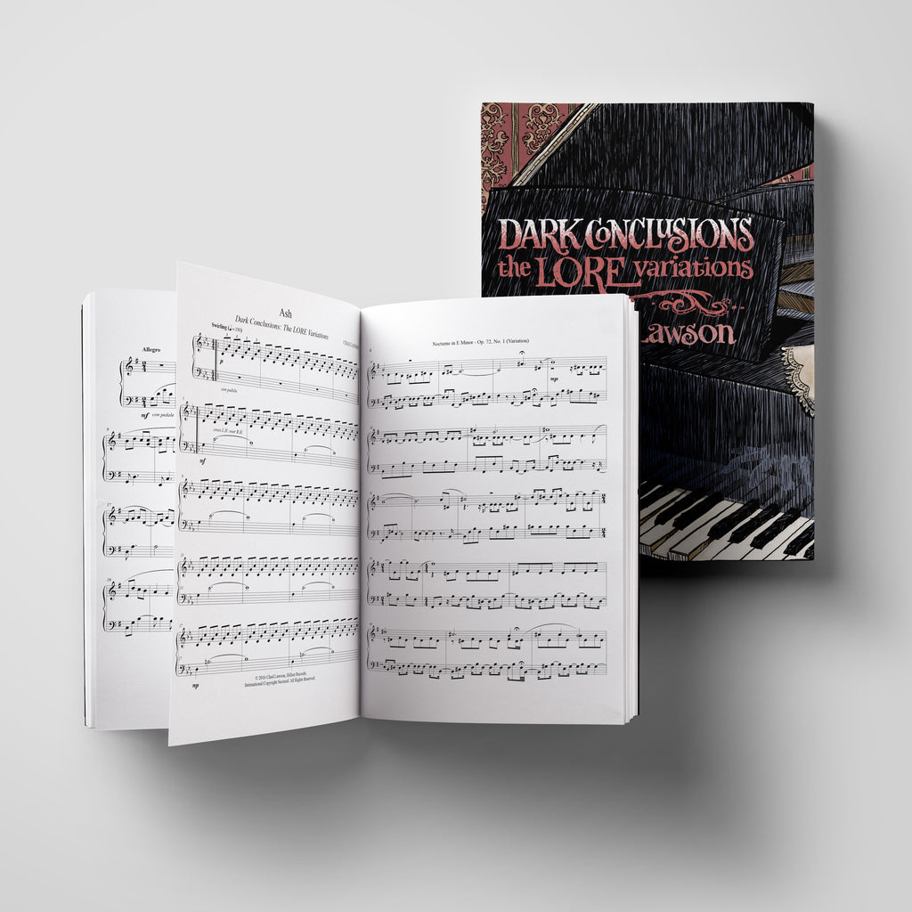 Dark Conclusions - The Lore Variations (Songbook & Sheet Music)