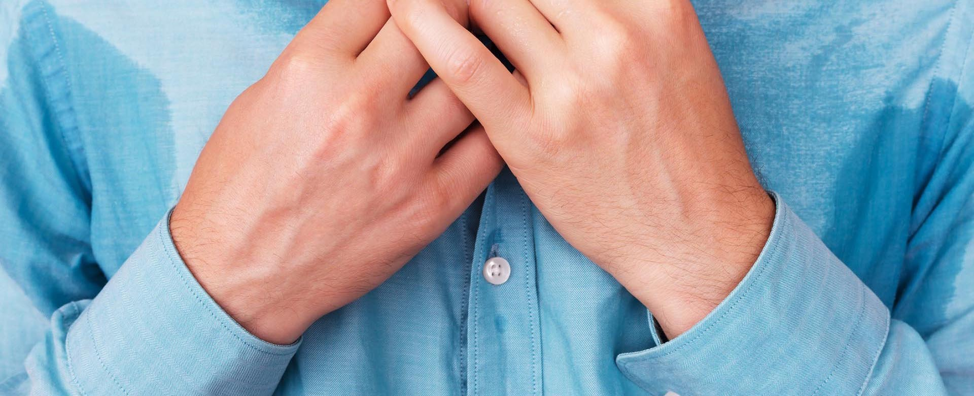 Effective treatment for your Hyperhidrosis