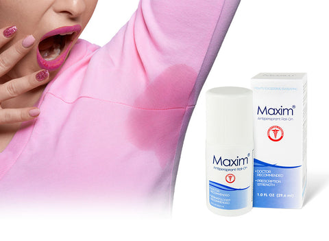 Maxim antiperspirant completely destroys all forms of underarm sweat