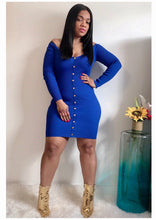 "Load image into Gallery viewer, ""BLUE BOMBSHELL"" Ribbed Mini"