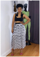 "Load image into Gallery viewer, ""POLKA DOT"" Double Lined Skirt"