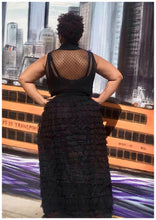 "Load image into Gallery viewer, ""LACEY"" Curvy Black Dress"