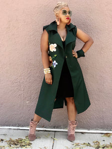 """FALL VIBES"" Trench"