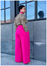 "Load image into Gallery viewer, ""BOSSED UP"" Wide Leg Pants"