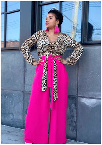 """BOSSED UP"" Wide Leg Pants"