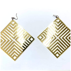 ACRYLIC ABSTRACT EARRINGS