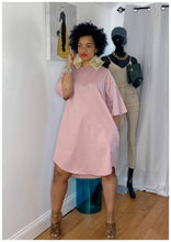 "Load image into Gallery viewer, ""CLASSIC GIRL"" Oversized Dress"