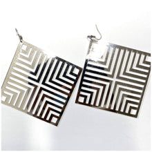 Load image into Gallery viewer, ACRYLIC ABSTRACT EARRINGS