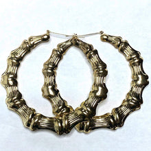 "Load image into Gallery viewer, ""BAMBOO"" EARRINGS"