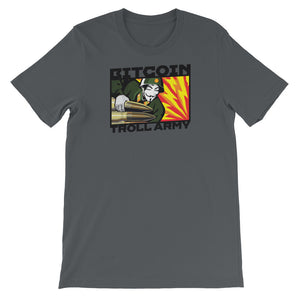 BITCOIN TROLL ARMY - Short-Sleeve Unisex T-Shirt
