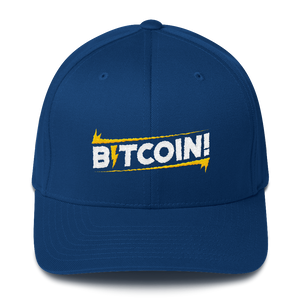 BITCOIN! - Structured Twill Cap
