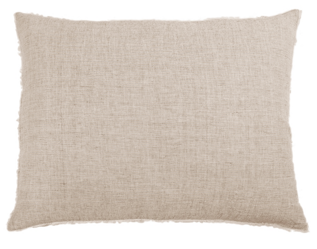 Heathered Taupe Oversized Pillow