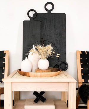 Black Mango Wood Cutting Board