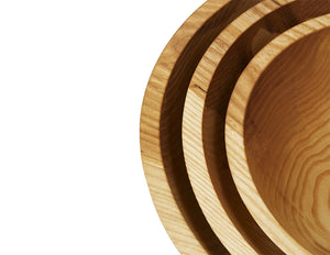Crafted Wood Bowls - Natural Wood