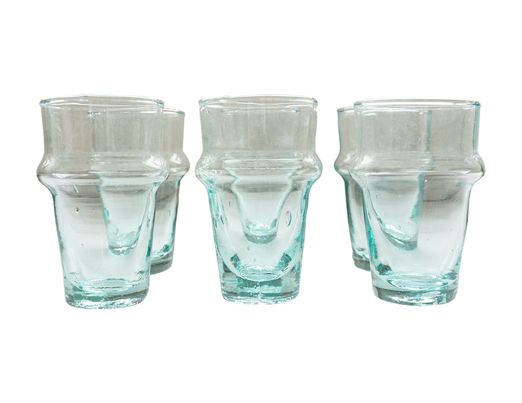 Morning Juice Glasses Set of Six