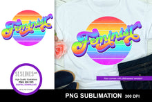 Load image into Gallery viewer, Feminist Retro Sublimation Design PNG - Vintage Wear Crafters Sublimation
