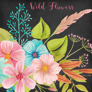 Wild Meadow Flowers Watercolor Set - slslines