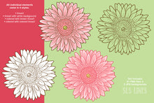 Load image into Gallery viewer, Daisy Graphic Set