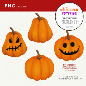 Halloween pumpkin clipart PNGs