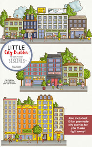 Little Cities Creator Graphic Set