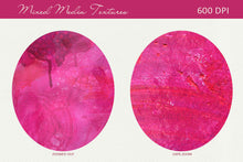 Load image into Gallery viewer, Mixed Media Backgrounds in Pink, Orange, Red & Yellow