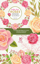 Load image into Gallery viewer, Pretty Pink Roses Watercolor Clipart