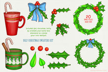 Load image into Gallery viewer, Ugly Christmas Sweater Clipart PNG