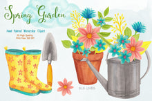Load image into Gallery viewer, Spring Garden & Boots Watercolor Set