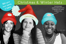 Load image into Gallery viewer, Christmas & Winter Watercolor Hats Clipart