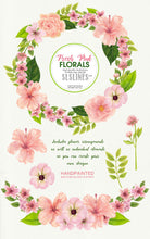 Load image into Gallery viewer, Pretty pink watercolor flower clipart