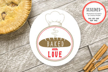 Load image into Gallery viewer, Baking SVG Set - Baked with Love