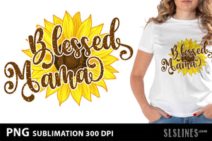 Blessed Mama & Nana PNG Mini Sublimation Bundle