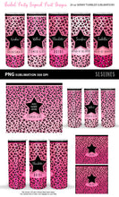 Load image into Gallery viewer, Leopard Print Bridal Party - Skinny Tumbler Sublimation Crafters Sublimation